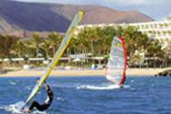 Windsurfen auf Lanzarote
